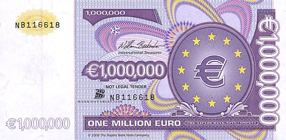 1 Million Won In Euro