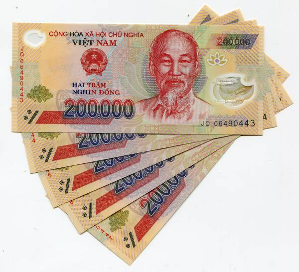 Vietnam Dong 1 Million In