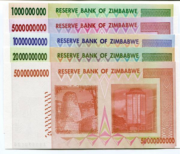 Zimbabwe currency exchange rates calculator